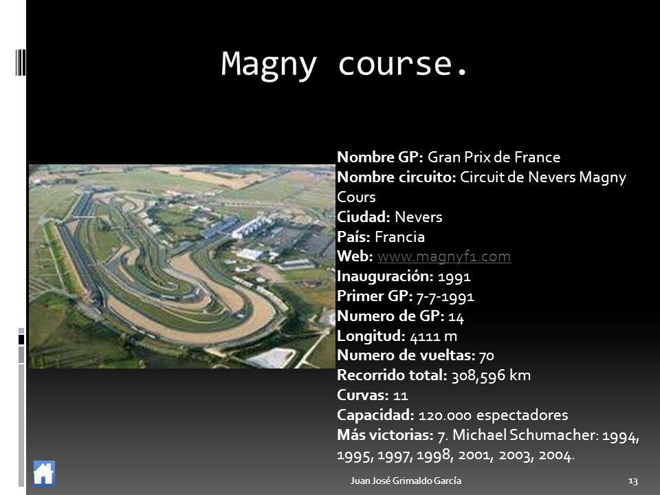 Magny course. Nombre GP: Gran Prix de France