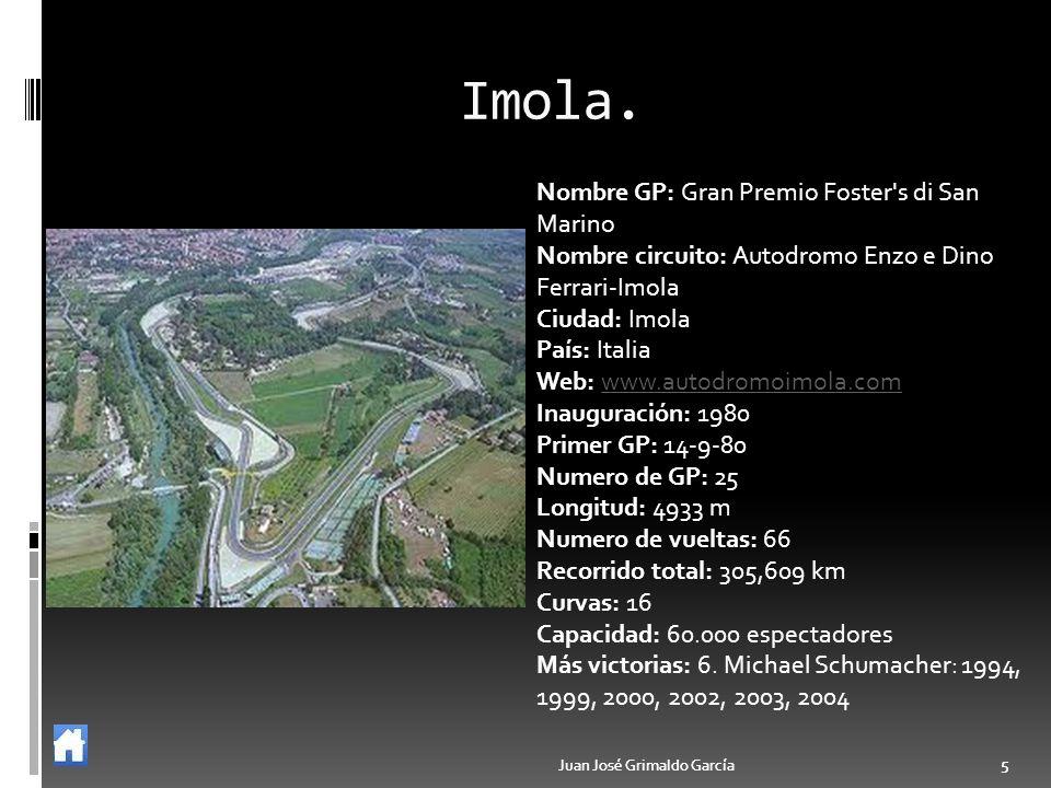 Imola. Nombre GP: Gran Premio Foster s di San Marino