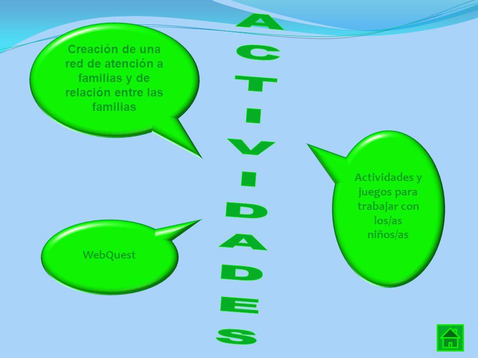 Actividades y juegos para trabajar con los/as niños/as
