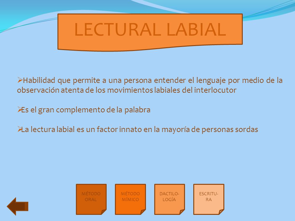 LECTURAL LABIAL