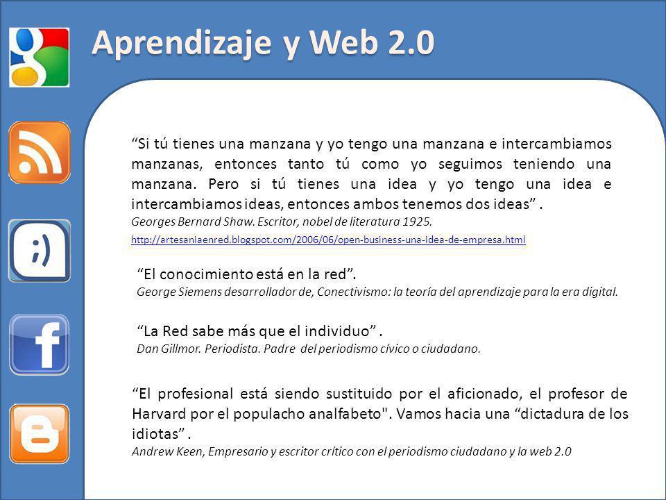 Aprendizaje y Web 2.0