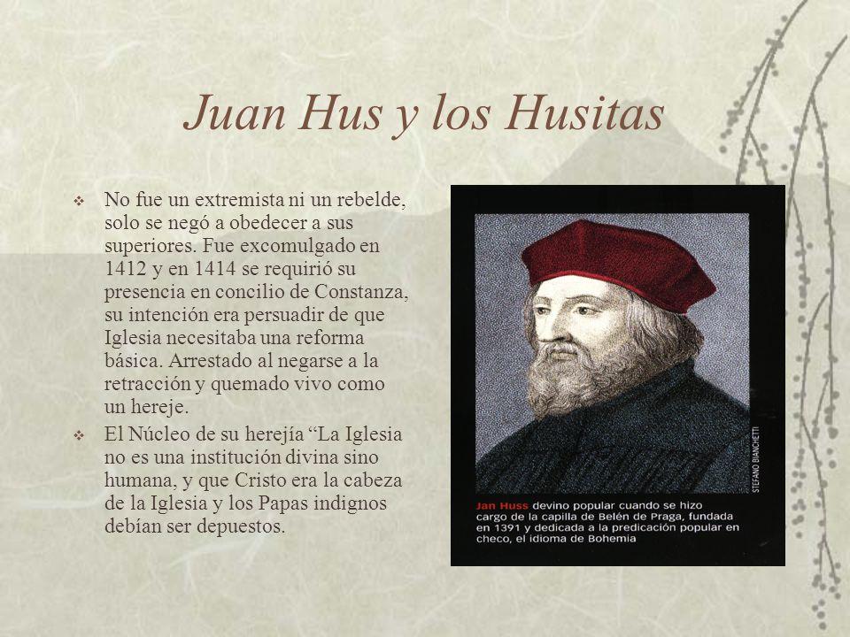 Juan Hus y los Husitas