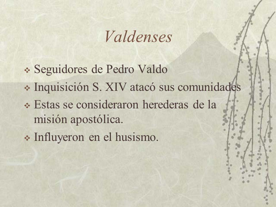 Valdenses Seguidores de Pedro Valdo