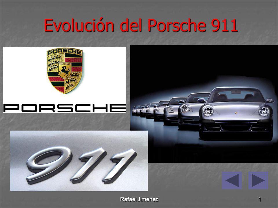 Evolución del Porsche 911 Rafael Jiménez