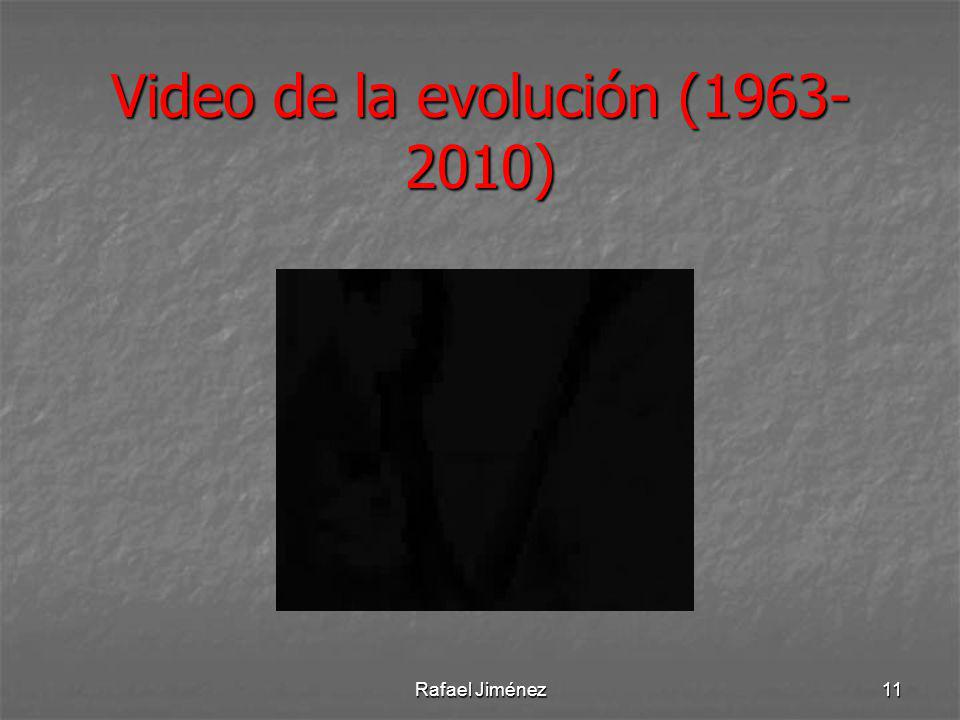 Video de la evolución (1963-2010)