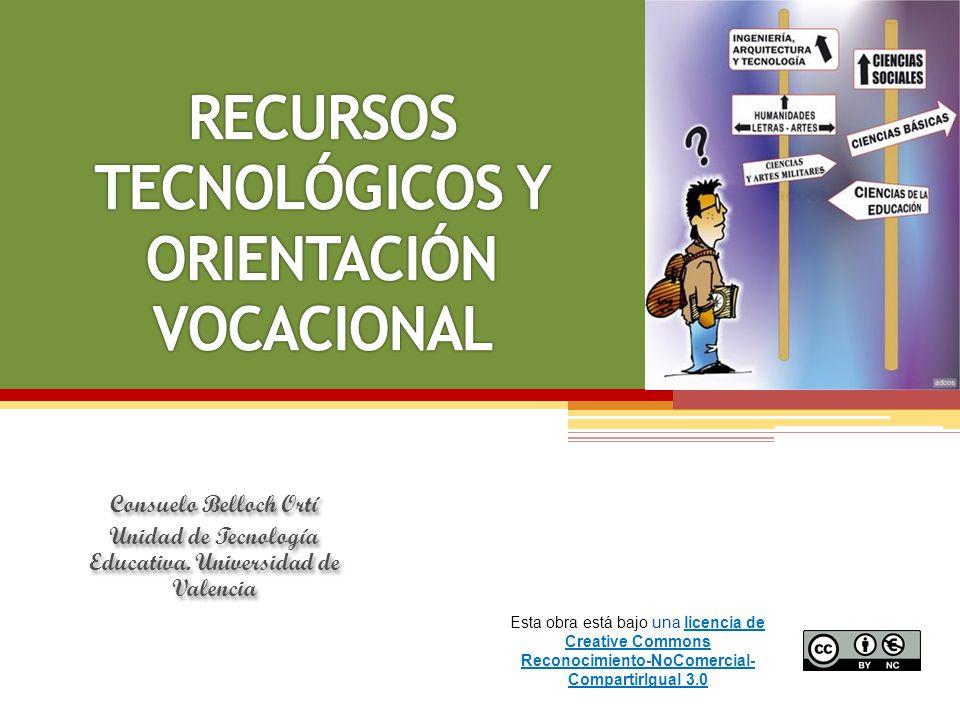 RECURSOS TECNOLÓGICOS Y ORIENTACIÓN VOCACIONAL