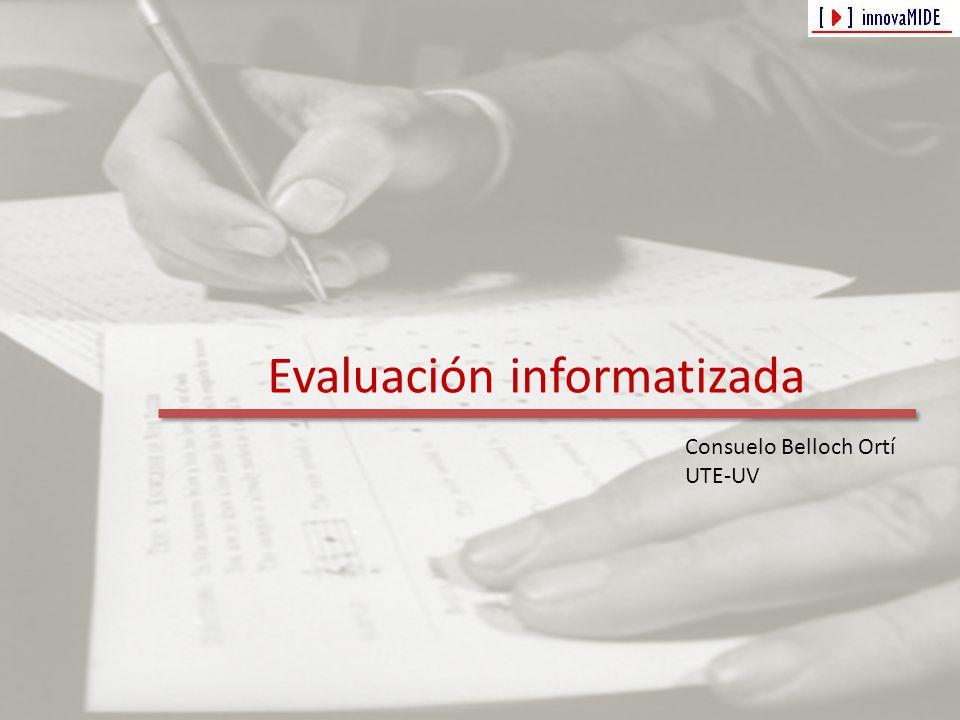 Evaluación informatizada