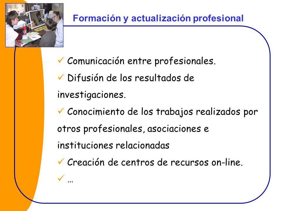Formación y actualización profesional