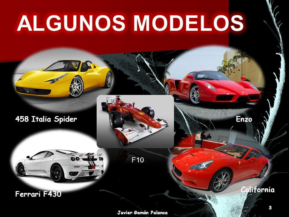 ALGUNOS MODELOS 458 Italia Spider Enzo F10 California Ferrari F430