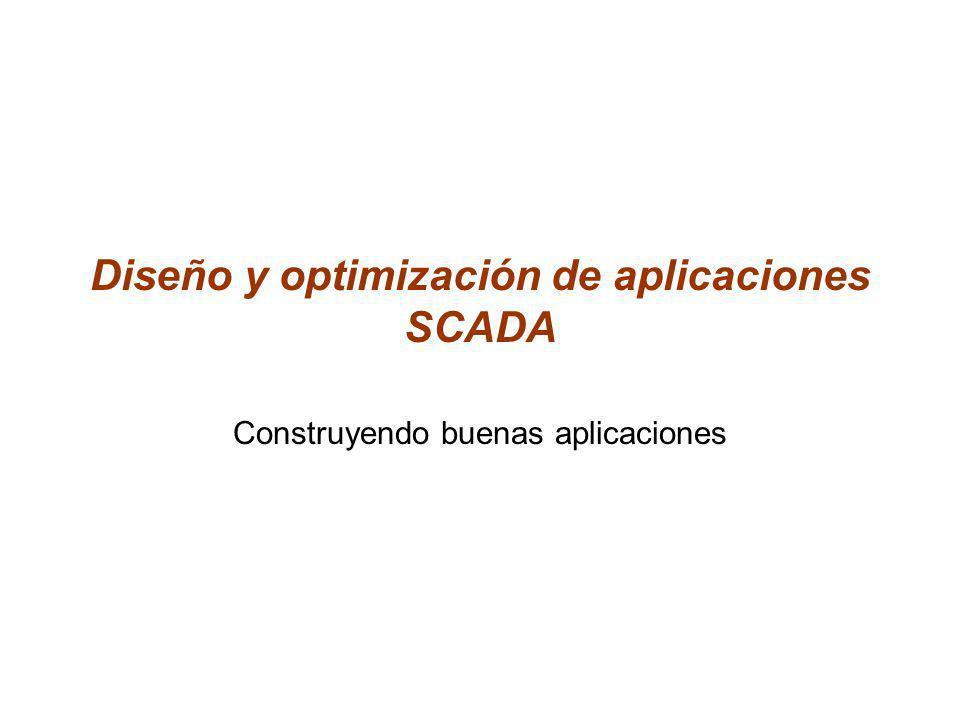 Diseño y optimización de aplicaciones SCADA