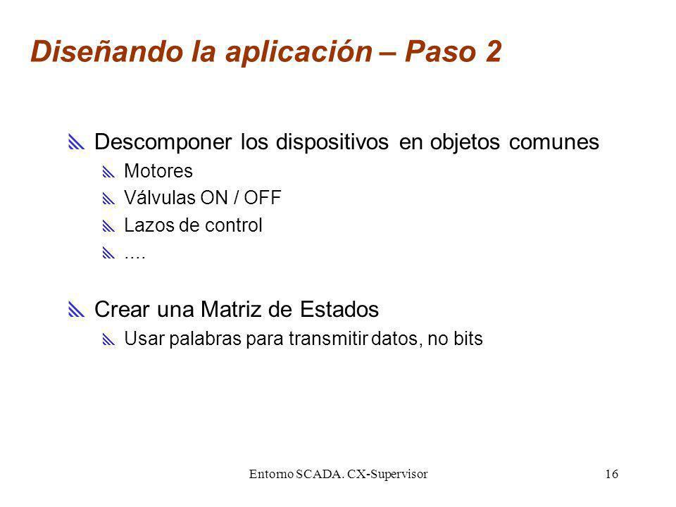 Diseñando la aplicación – Paso 2