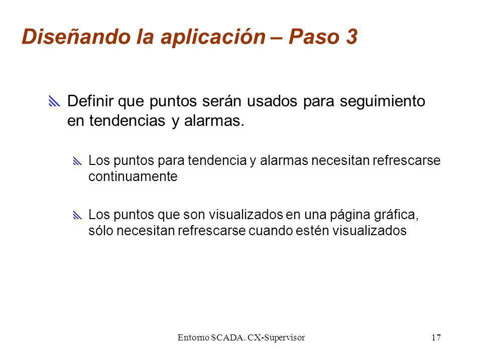 Diseñando la aplicación – Paso 3