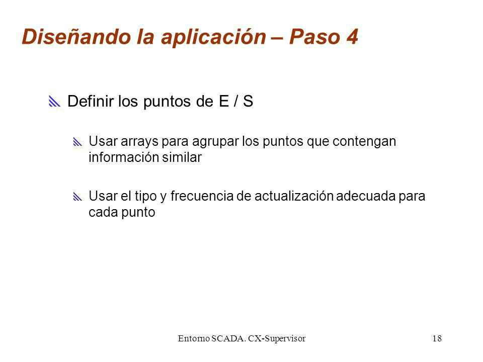 Diseñando la aplicación – Paso 4