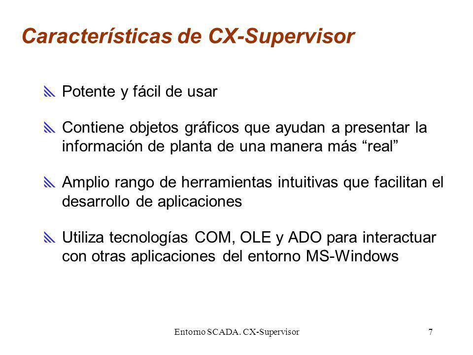 Características de CX-Supervisor
