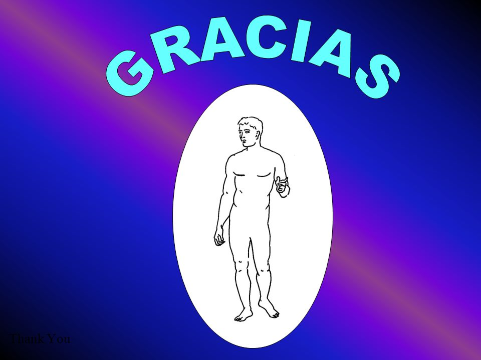 GRACIAS Thank You