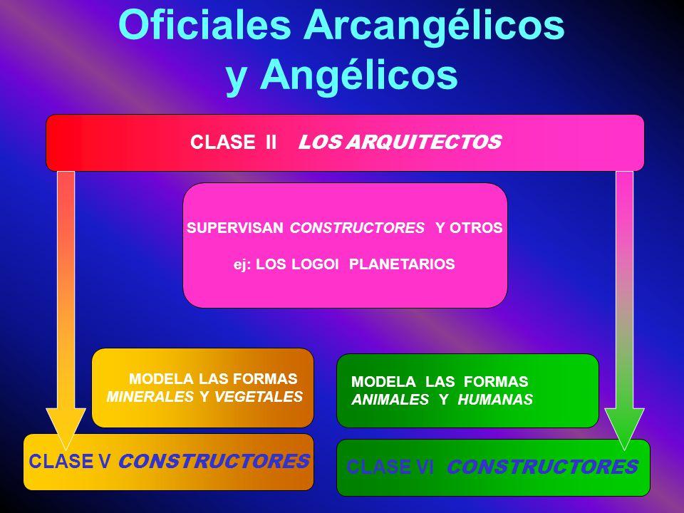 Oficiales Arcangélicos y Angélicos
