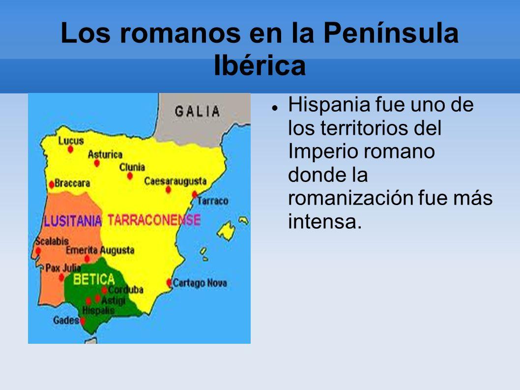 Los romanos en la Península Ibérica