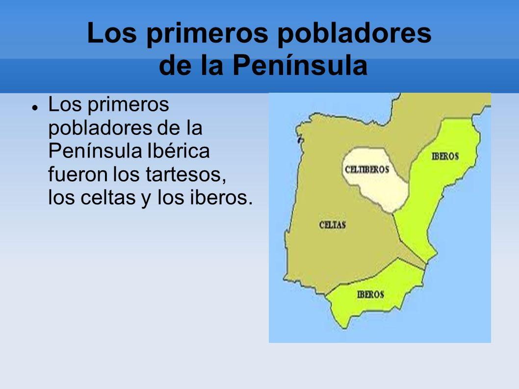 Los primeros pobladores de la Península