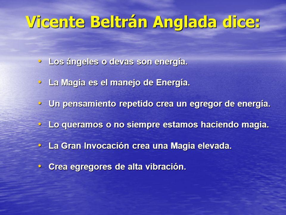 Vicente Beltrán Anglada dice: