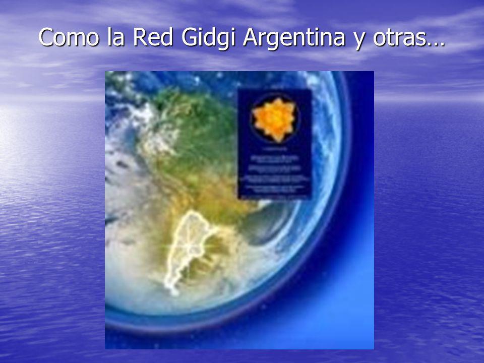 Como la Red Gidgi Argentina y otras…