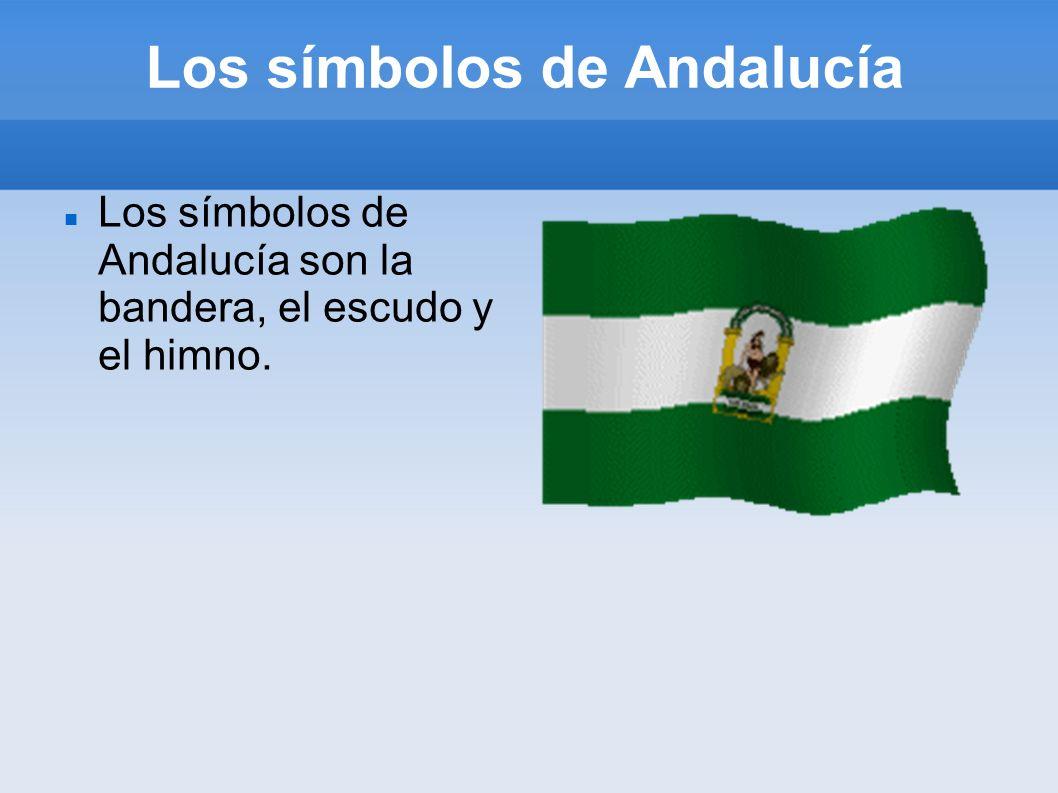 Los símbolos de Andalucía