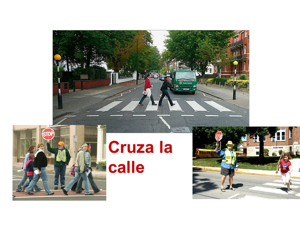 Cruza la calle