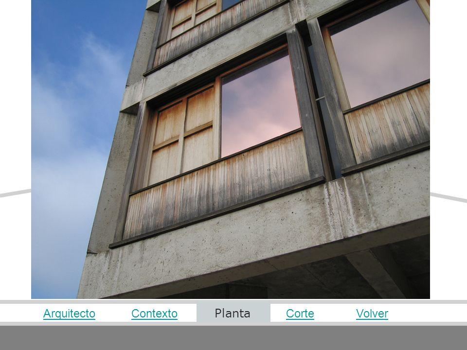 Arquitecto Contexto Planta Corte Volver