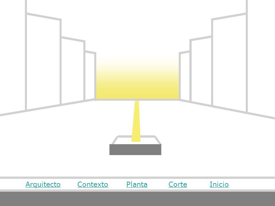 Arquitecto Contexto Planta Corte Inicio