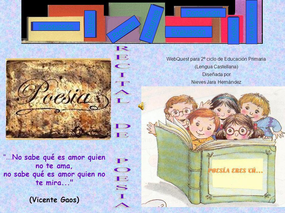 WebQuest para 2º ciclo de Educación Primaria