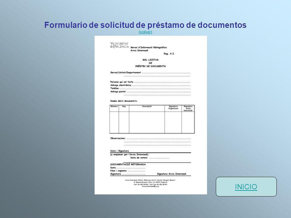 Formulario de solicitud de préstamo de documentos (volver)