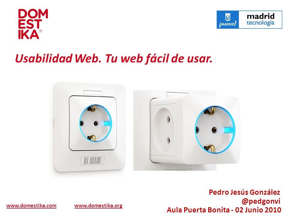 Usabilidad Web. Tu web fácil de usar.