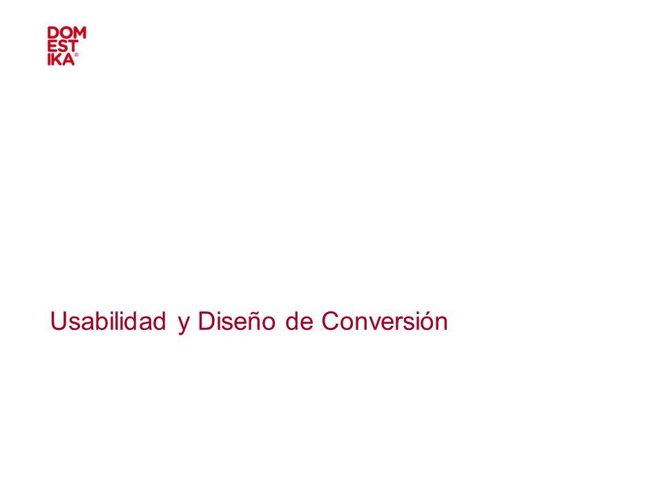 Usabilidad y Diseño de Conversión
