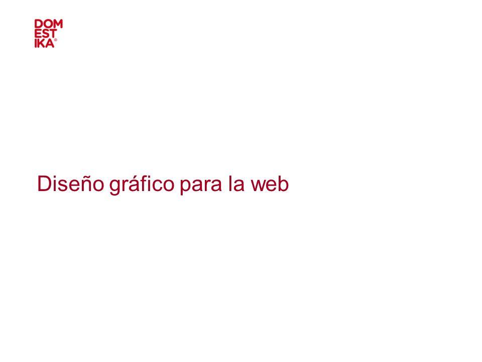 Diseño gráfico para la web