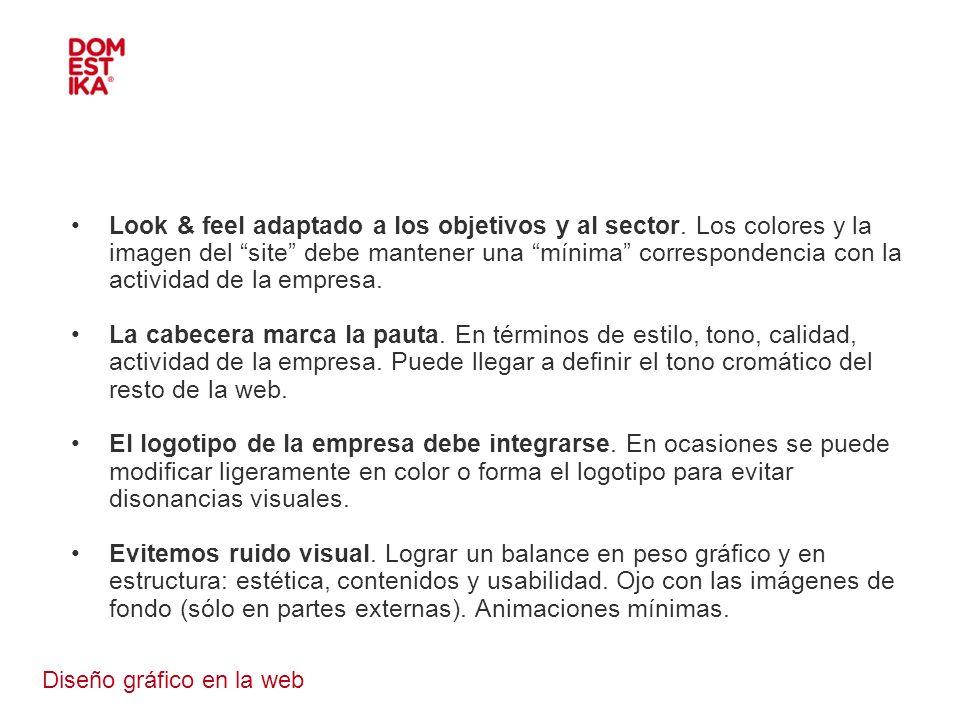 Diseño gráfico en la web