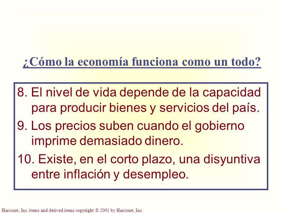 ¿Cómo la economía funciona como un todo