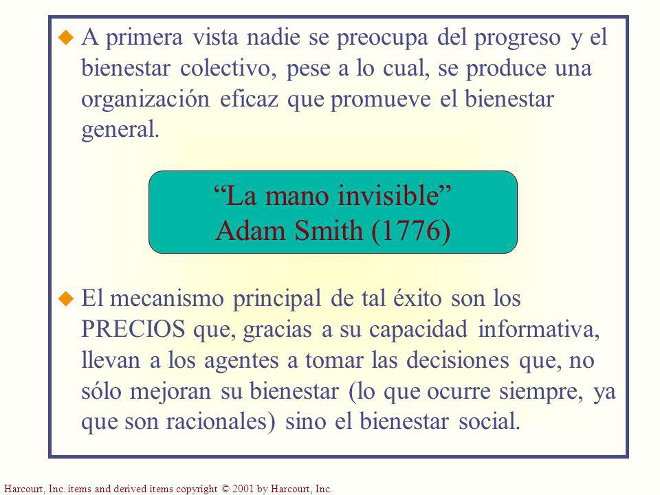 La mano invisible Adam Smith (1776)