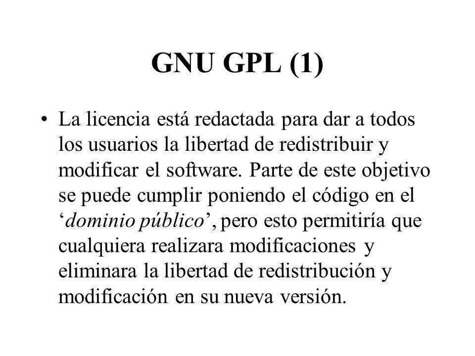GNU GPL (1)