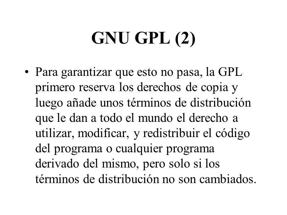 GNU GPL (2)