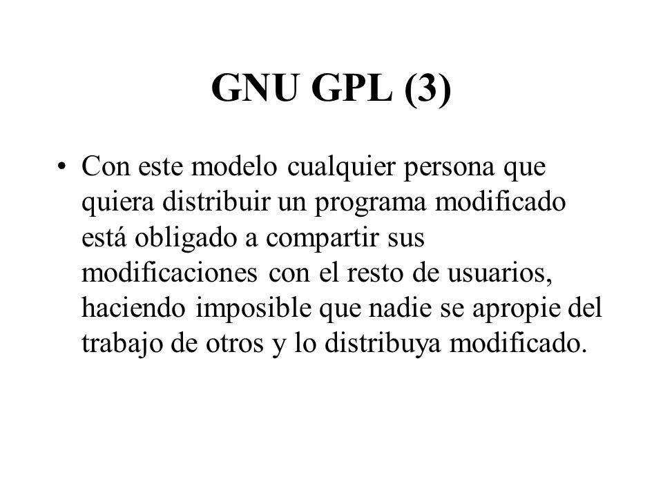 GNU GPL (3)