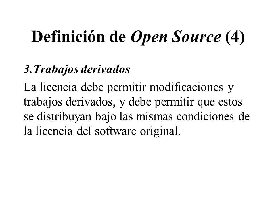 Definición de Open Source (4)