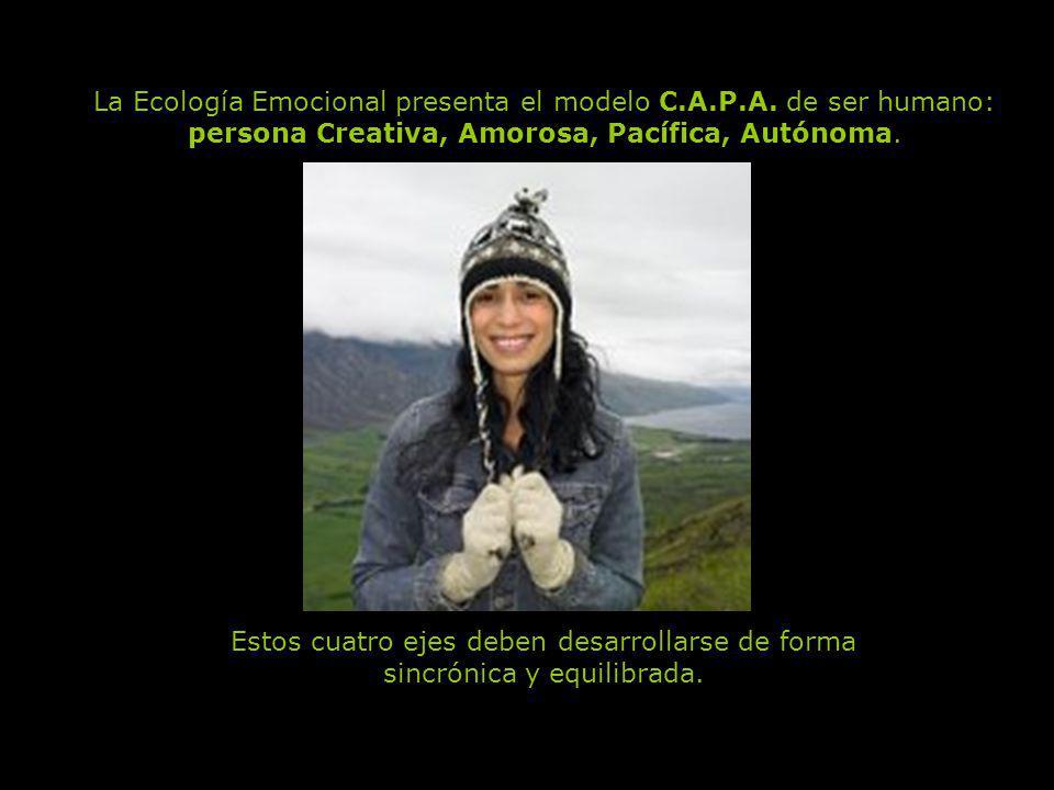 La Ecología Emocional presenta el modelo C.A.P.A. de ser humano: