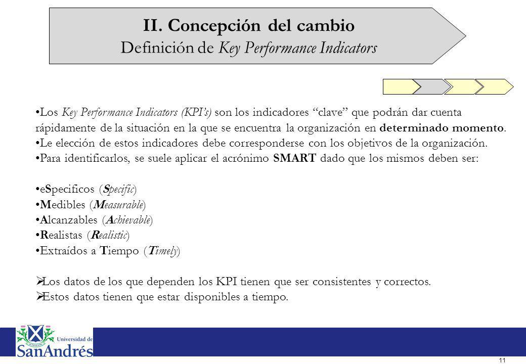 II. Concepción del cambio Análisis de las Brechas (Gap Analysis)