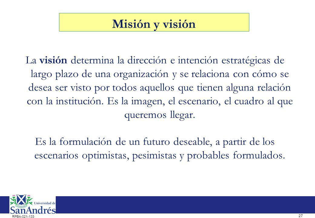 La misión de la escuela…