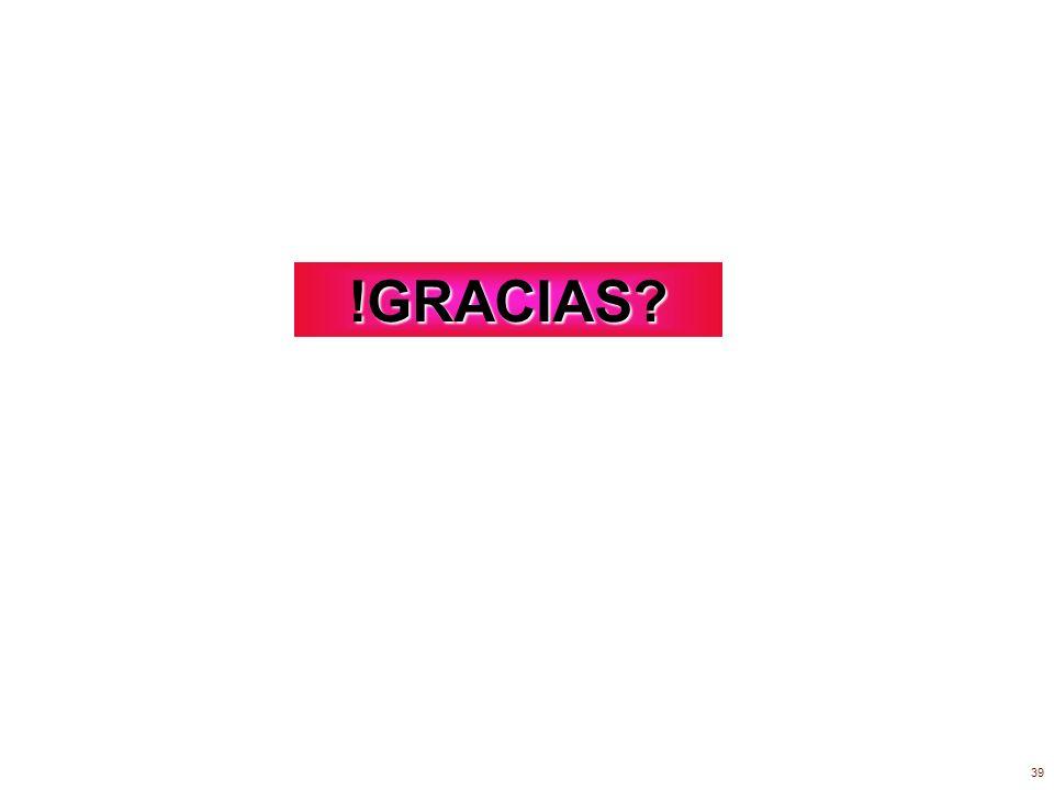 !GRACIAS 39