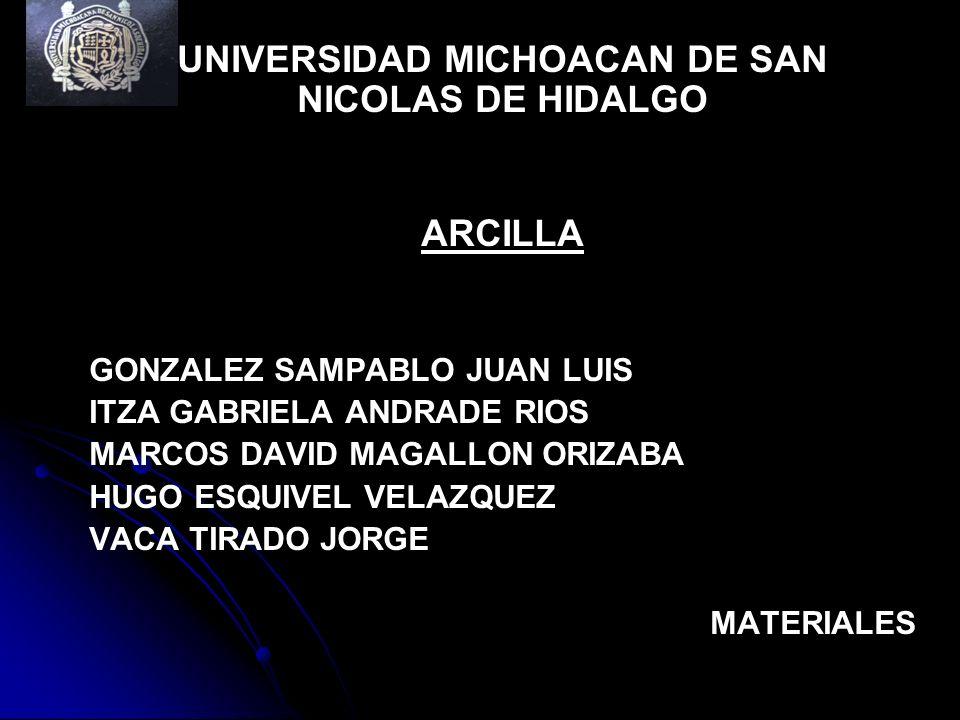UNIVERSIDAD MICHOACAN DE SAN NICOLAS DE HIDALGO