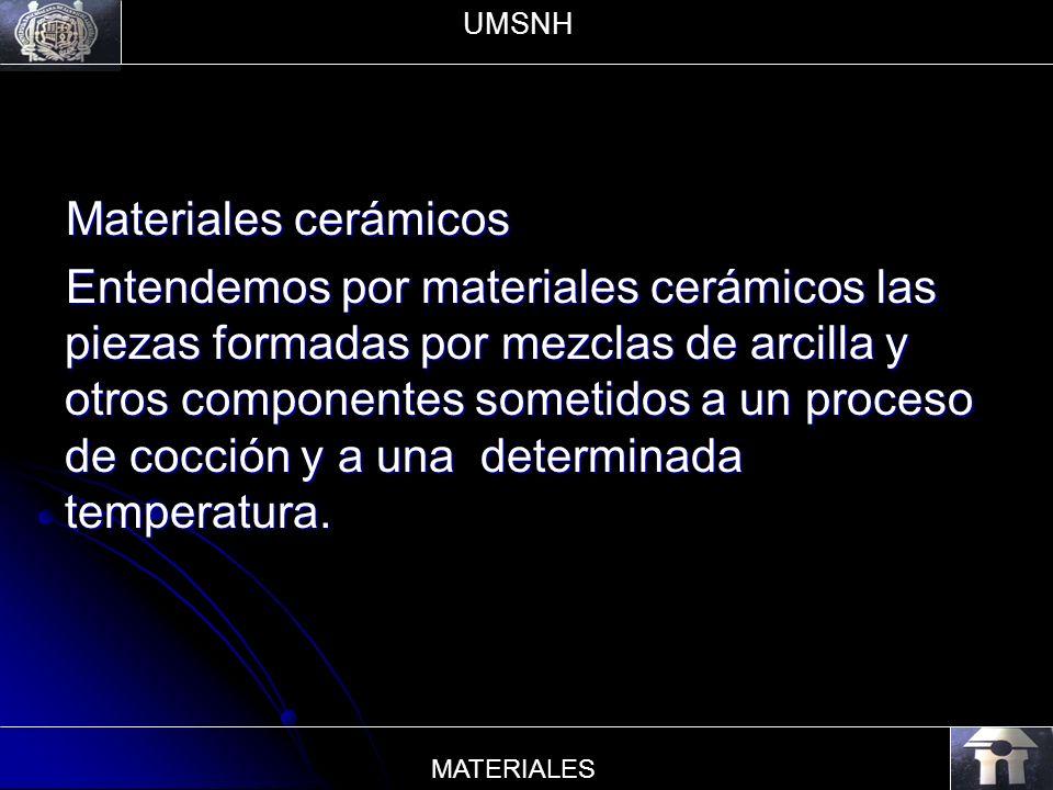 UMSNH Materiales cerámicos.