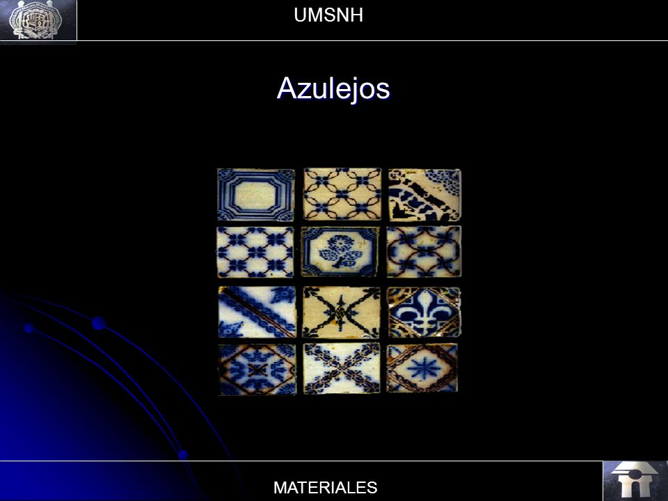 UMSNH Azulejos MATERIALES