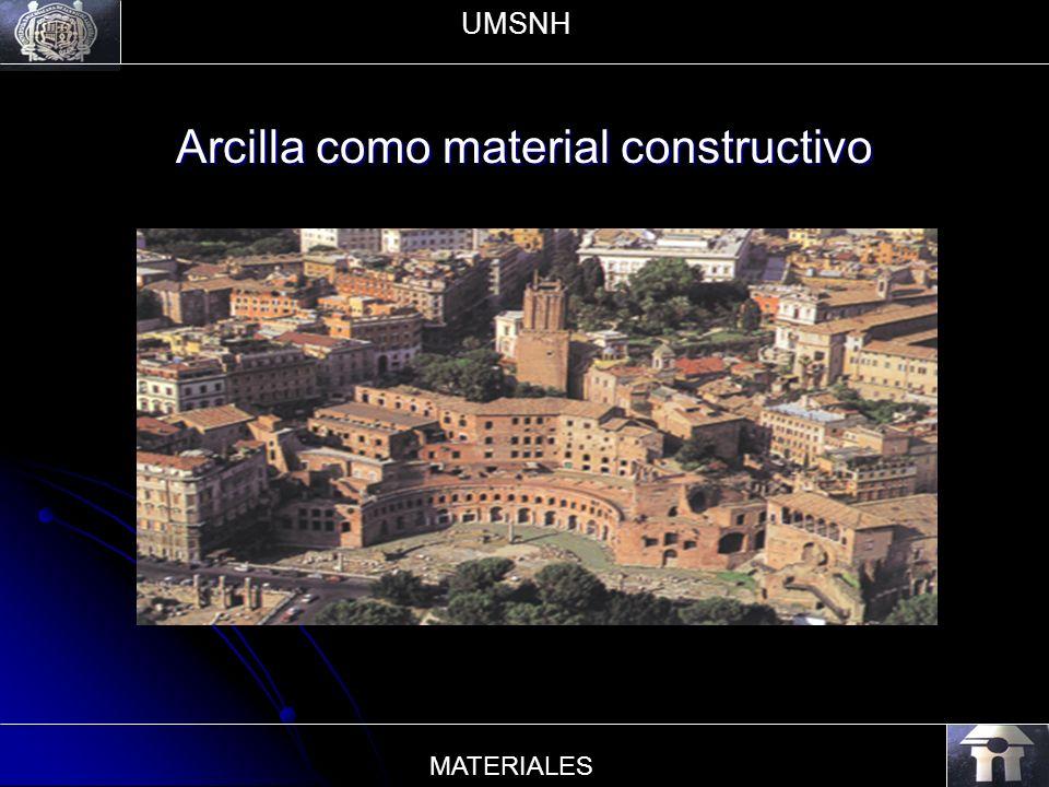 Arcilla como material constructivo