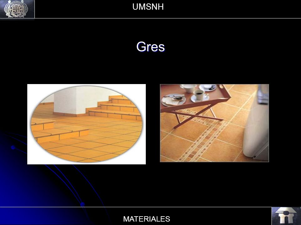 UMSNH Gres MATERIALES