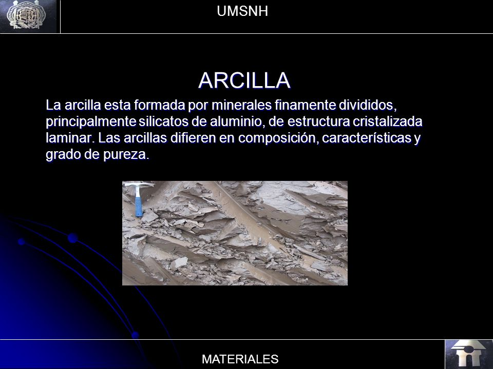UMSNH ARCILLA.